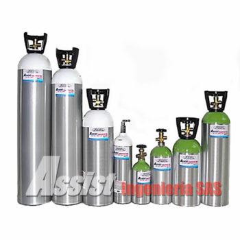 Cilindros en aluminio