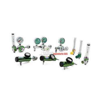 Reguladores de oxigeno, Reguladores medicinales