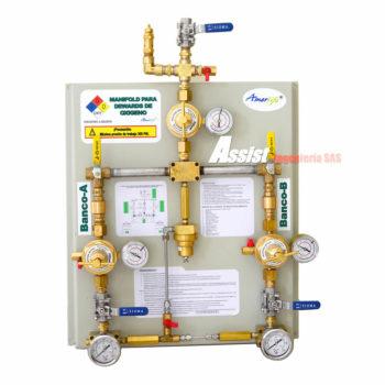 Unidad de regulación para oxigeno liquido Amerlife